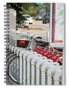Fort Worth B Cycle 2 Spiral Notebook