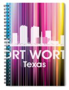 Fort Worth Tx 2 Spiral Notebook