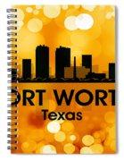 Fort Worth Tx 3 Spiral Notebook