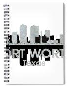 Fort Worth Tx 4 Spiral Notebook