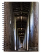 Fortified Covered Walkway Spiral Notebook
