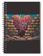 Fortress Around Your Heart Spiral Notebook