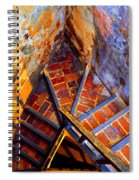 Fortress Steps Spiral Notebook