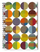Forty Eight Circles 2.0 Spiral Notebook