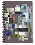 Forty Nine Shades Of Gray II Spiral Notebook