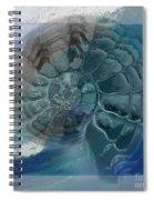 Fossil Ocean Spiral Notebook