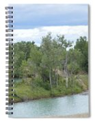 Fossil Prairie Panoramic Spiral Notebook