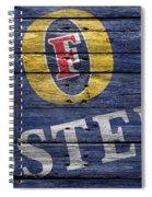 Fosters Spiral Notebook