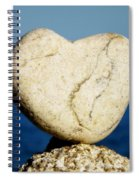 Found Heart Spiral Notebook