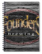 Founders Brewing Spiral Notebook