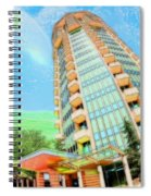 Founder's Tower In Oklahoma City Spiral Notebook