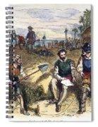 Founding Of St Spiral Notebook