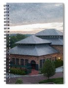 Foundry Building In The Morning Spiral Notebook