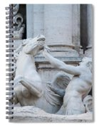 Fountain Di Trevi Spiral Notebook