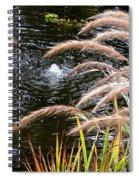 Fountain Grass Spiral Notebook