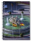 Fountain Of Cebeles II Spiral Notebook