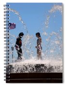 Fountain Of Youth Spiral Notebook