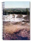 Fountain Paint Pot Yellowstone National Park Spiral Notebook