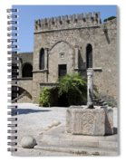 Fountain  - Rhodos City Spiral Notebook