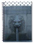 Fountain Seat Spiral Notebook