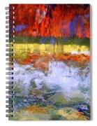 Fountain Splash Spiral Notebook