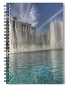 Fountains Of Paradise Spiral Notebook