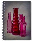Four Bottles Spiral Notebook
