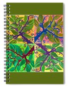Four Branches By Jrr Spiral Notebook