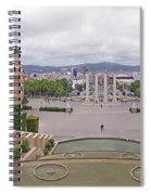 Four Columns And Magic Fountain Spiral Notebook