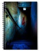 Four Down Spiral Notebook