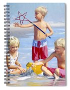 Four Five And Six Spiral Notebook