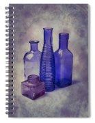 Four Glass Bottles Spiral Notebook