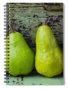 Four Pears Spiral Notebook