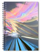 Four Planets Spiral Notebook