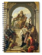Four Saints Spiral Notebook