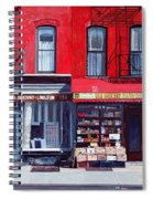 Four Shops On 11th Ave Spiral Notebook
