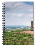 Four Standing Stones On The Clent Hills Spiral Notebook