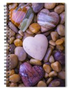 Four Stone Hearts Spiral Notebook