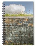 Fourt Moultrie Battery Jasper Wall Spiral Notebook