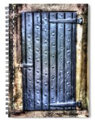 Fourt Moultrie Door Spiral Notebook