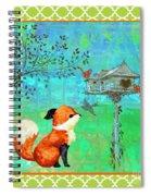 Fox-a Spiral Notebook