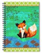 Fox-c Spiral Notebook