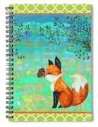 Fox-d Spiral Notebook