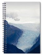 Fox Glacier On South Island Of New Zealand Spiral Notebook