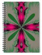 Fractal 002 Spiral Notebook