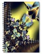 Fractal 009 Spiral Notebook