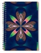 Fractal 010 Spiral Notebook