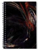 Fractal 18 College Spiral Notebook