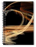 Fractal 24 Es Heart Spiral Notebook