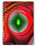 Fractal 86 Spiral Notebook
